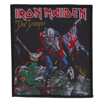 patch IRON MAIDEN - THE TROOPER - RAZAMATAZ, RAZAMATAZ, Iron Maiden