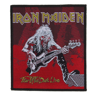 patch IRON MAIDEN - FEAR OF THE DARK LIVE - RAZAMATAZ, RAZAMATAZ, Iron Maiden