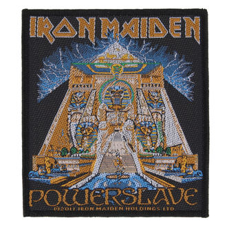 patch IRON MAIDEN - POWERSLAVE - RAZAMATAZ, RAZAMATAZ, Iron Maiden