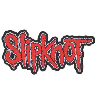 patch SLIPKNOT - LOGO CUT-OUT - RAZAMATAZ, RAZAMATAZ, Slipknot