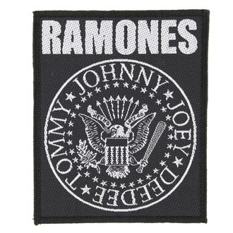 patch RAMONES - CLASSIC SEAL - RAZAMATAZ - SP2868