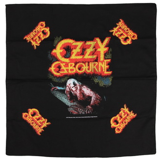 kerchief OZZY OSBOURNE - BARK AT THE MOON - RAZAMATAZ, RAZAMATAZ, Ozzy Osbourne
