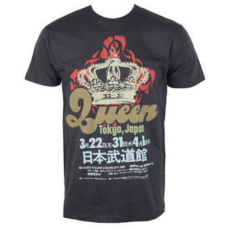 t-shirt metal men's Queen - TOKYO,JAPAN - BRAVADO, BRAVADO, Queen