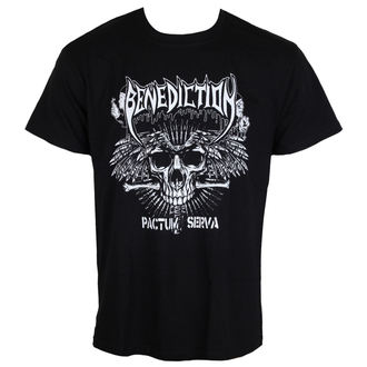 t-shirt metal men's Benediction - Pactum Serva -, Benediction