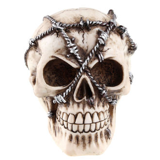 Decoration Wired Skull (box)