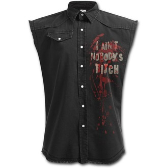 Shirt with no sleeveless men SPIRAL - DARYL WINGS - Walking Dead Stone, SPIRAL