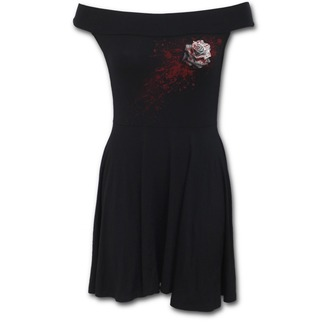 dress women SPIRAL - WHITE ROSE - K020G068