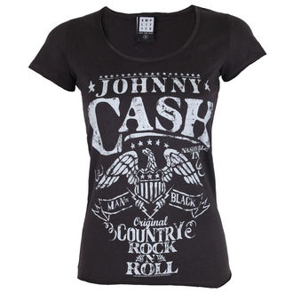 t-shirt metal women's Johnny Cash - JOHNNY CASH - AMPLIFIED, AMPLIFIED, Johnny Cash