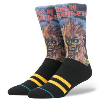 socks IRON MAIDEN - BLACK, Iron Maiden