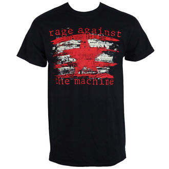 t-shirt metal men's Rage against the machine - Newspaper Star -, Rage against the machine