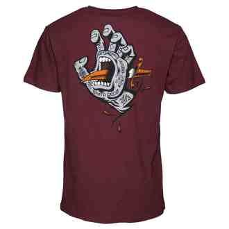 t-shirt street men's - Flash Hand Colour - SANTA CRUZ, SANTA CRUZ