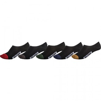 socks (set 5 pairs) GLOBE - Dip Invisible, GLOBE