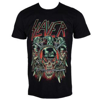 t-shirt metal men's Slayer - Prey with Background - ROCK OFF, ROCK OFF, Slayer