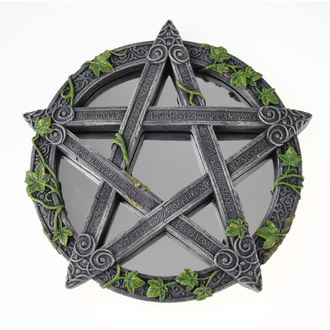 mirror (decoration) Wiccan Pentagram
