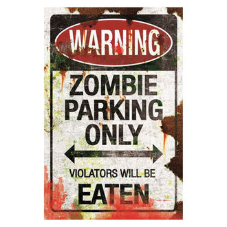 decoration (signs) Zombie Parking