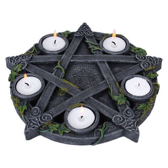 candlestick (decoration) Wiccan Pentagram Tea - B2538G6