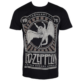 t-shirt metal men's Led Zeppelin - MADISON SQ GARDEN - LIVE NATION, LIVE NATION, Led Zeppelin