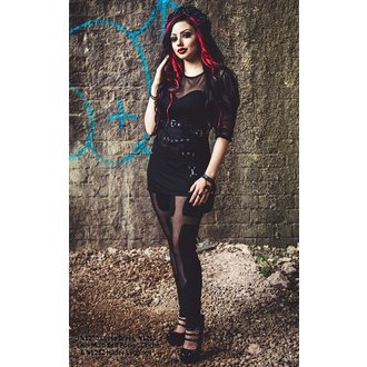 dress women Necessary Evil - Ruched Mesh Lyssa, NECESSARY EVIL