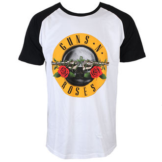 t-shirt metal men's Guns N' Roses - Circle Logo - ROCK OFF, ROCK OFF, Guns N' Roses