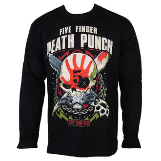 t-shirt metal men's Five Finger Death Punch - Black - ROCK OFF, ROCK OFF, Five Finger Death Punch