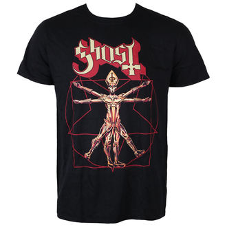 t-shirt metal men's Ghost - Popestar Tour 2017 - ROCK OFF, ROCK OFF, Ghost