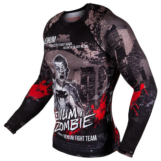 t-shirt street men's - Zombie Return Rashguard - VENUM, VENUM