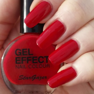 nail polish STAR GAZER - Gel Effect Nail Polish - Vampire, STAR GAZER