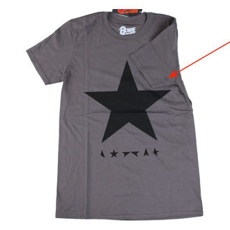 t-shirt metal men's David Bowie - Blackstar - ROCK OFF, ROCK OFF, David Bowie