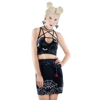 sports bra TOO FAST - PENTAGRAM - BLACK WIDOW - WTPT-R-BTWEB