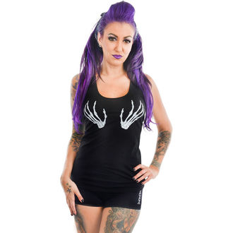 top women TOO FAST - RACERBACK - SKELETON HANDS, TOO FAST