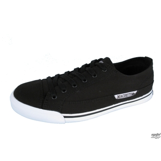 low sneakers men's - Matthew - MACBETH - BLACK/WHITE
