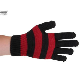 gloves FALLEN - Surplus - Ox Blood - BLK/RED