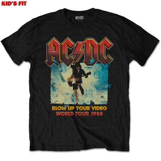 Children's t-shirt AC/DC - Blow Up Your Video - ROCK OFF - ACDCTS42BB