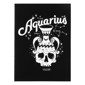 Wish card KILLSTAR - Aquarius - BLACK, KILLSTAR
