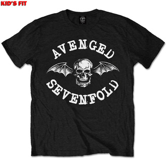 Children's t-shirt Avenged Sevenfold - Classic Deathbat - ROCK OFF, ROCK OFF, Avenged Sevenfold