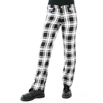 pants men Black Pistol - Tartan Pants Black-white - B-1-05-060-01