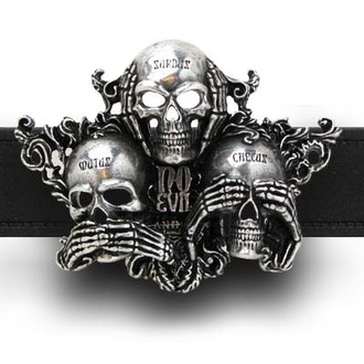 buckle No Evil ALCHEMY GOTHIC