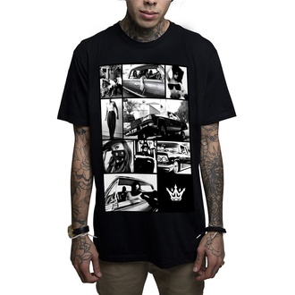 t-shirt hardcore men's - Barrio - MAFIOSO - 53006