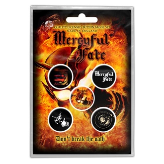 Badges Mercyful Fate - Don't Break The Oath - RAZAMATAZ, RAZAMATAZ, Mercyful Fate