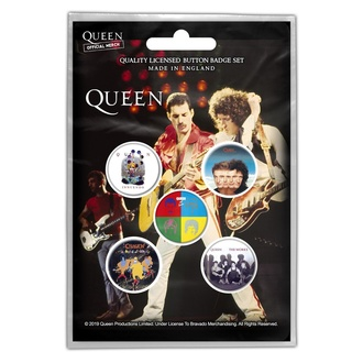 Badges Queen - Later Albums - RAZAMATAZ, RAZAMATAZ, Queen