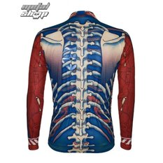 jersey cycling with long sleeve PRIMAL WEAR - Bone Collector, PRIMAL WEAR