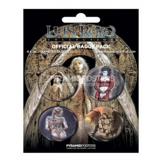 badges - Luis Royo - BP80132 - Pyramid Posters