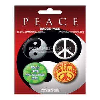 badges - Peace - BP80137 - Pyramid Posters