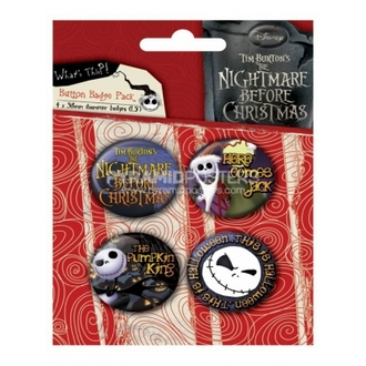 badges - Nightmare Before Christmas (Jack) - BP80303 - Pyramid Posters