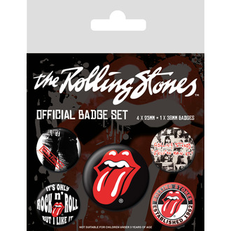 Pin badges Rolling Stones - (Classic) - PYRAMID POSTERS, PYRAMID POSTERS, Rolling Stones