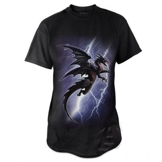 t-shirt men's - Lightning Dragon - ALCHEMY GOTHIC - BT734