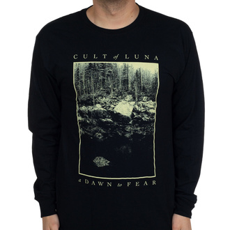 Men's shirt with a long sleeve Cult of Luna - Cliff - Black - INDIEMERCH, INDIEMERCH, Cult of Luna