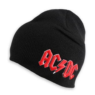 Beanie AC / DC - Red 3D Logo - ROCK OFF, ROCK OFF, AC-DC