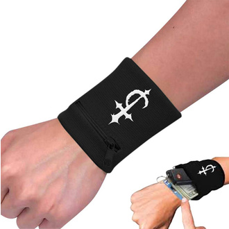 Wristband Devil Driver - Cross Black, NNM, Devildriver
