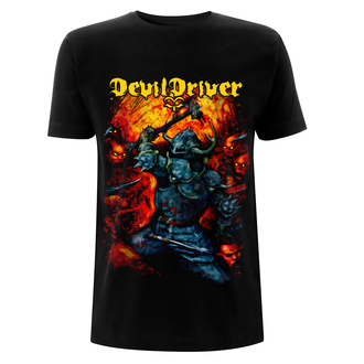 t-shirt metal men's Devildriver - Warrior - NNM, NNM, Devildriver